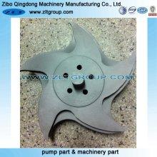 Centrifugal Durco Mark 3 Pumpenlaufrad für 3X2-13 Größe mit Titanlegierung 316ss oder CD4