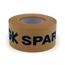 Hot sale Wet water activated wood kraft paper tape for packaging