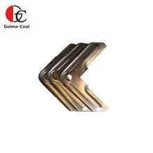 Coin de bride de bride de conduit TDF en acier galvanisé CVC