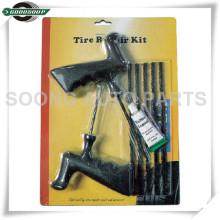 Herramientas de reparación de neumáticos de emergencia 8 piezas Kits de reparación de neumáticos de empaquetado de la tarjeta blister