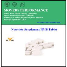 Suplemento nutricional Tableta HMB