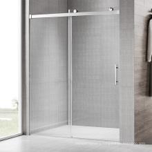 Popular frameless Bath room hardware system sliding shower door fittings