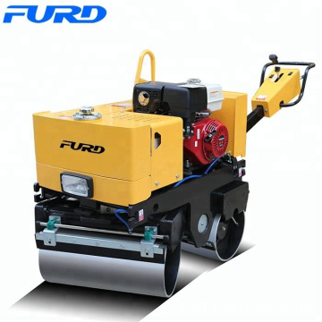 Double Drum Walk-Behind Vibratory Road Roller for Sale