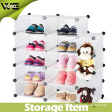 DIY Plastic Storage Custom Made Shoe Display Cabinet