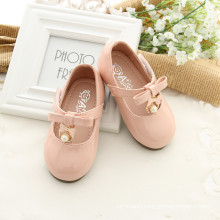 Light pink Newborn kid baby girls soft sole beaded lovely KIDS CLOTHES