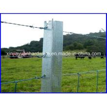 1.58kg / M-2.04kg / M Black / Galvanisé Y Star Picket à vendre