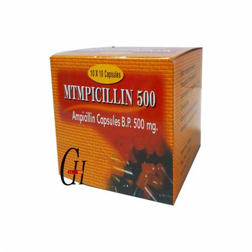 Ampicillin Capsule 500 Mg
