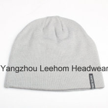Winter Fashion Warm Outdoor Promotional Knitted Beanie Hat