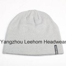 Moda Inverno quente ao ar livre promocional malha Beanie Hat