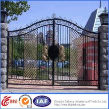 Высокое Качество Кованые Железные Ворота