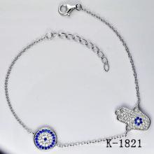 Joyería genuina pura de la plata esterlina (K-1821. JPG)