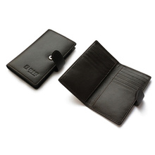 Wholesale Promotional handmade pu leather mens wallet