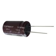 Condensador electrolítico de aluminio estándar c 125 / 130c