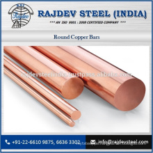 Stunning Copper Round Bar for Sale by Reputed Supplier