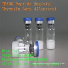 Tb500 2mg Peptide liofilizado do crescimento do músculo da pureza alta Tb500 Thymosin Beta 4 do Peptide