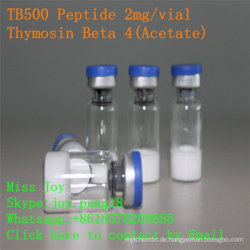 Tb500 2mg lyophilisiertes Peptid hohe Reinheit Tb500 Thymosin Beta 4 Muskelwachstums-Peptid