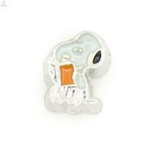 Плавающей медальон мультфильм Шарм эмали,дешевые плавающие подвески для браслетов