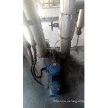 Bomba de engranajes de acero inoxidable bomba de engranajes de transferencia de aceite