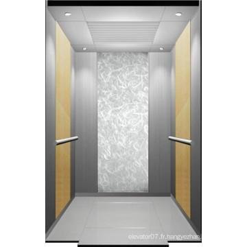 Ascenseur de passager de petite salle des machines avec la technologie du Japon