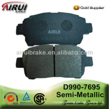No noise Auto Brake Pad D990-7695 for Yaris Versi(NC/LP 2_) 1.5(OE NO.:04465-17100)