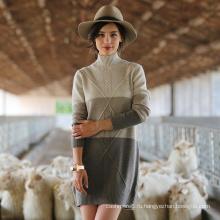 Высокое женщин Кашемировый свитер шеи