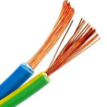 Factory Direct Supply Stranded Type Connect Flexible Wires of Copper Conductor Multicore Rated Voltage 300/300V PVC Insulation