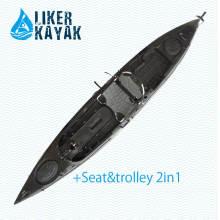 Hot Black Color PRO Pedal Kajak für Angeln und Angler Design von Liker