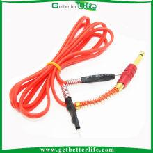 Getbetterlife boa qualidade 1,8 M Silicone vermelho tatuagem Clip cabo peças