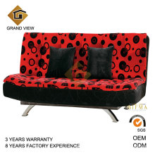 Conjunto de sofá de chenile vaca ocultar cadeira Otomano (GV-BS112)