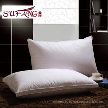 Lujo cómodo de fábrica directo de alta calidad Hotel Home almohada Funcional almohada 1200 g de ganso almohada