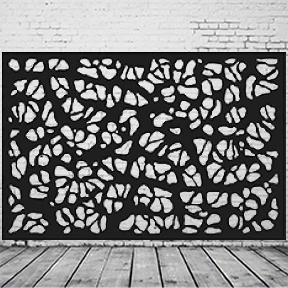 Laser Cut Metal Custom Balcony Panel