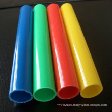 Colorful Hard PP PVC Customized Green Plastic Pipe
