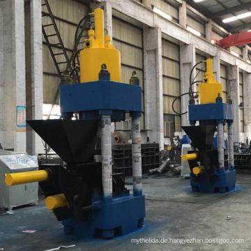 Brikettmaschine für Aluminiumschrottspäne Chips