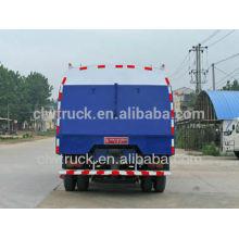 2015 Fábrica de fornecimento Dongfeng 145 caminhão vassoura de estrada com 5m3 poeira tanque