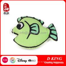 Green Fish Pet Toys para gato