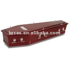 Unique style wooden coffin