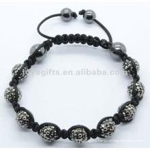 2012 Joya crystal ball beaded stretch bracelet