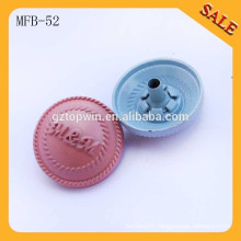 MFB52 Classic garment paint color metal button for shirt and sweater