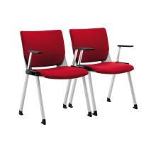 chaises empilables bon marché de salle d'attente pour la salle de réunion
