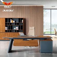 Laminate Modern Wooden Office L Shaped Executive Desk