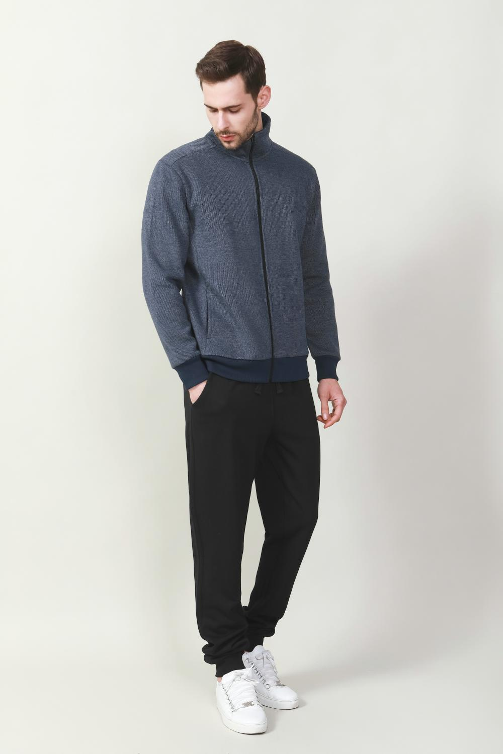 Men's black knit pants