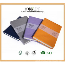 Office and School Stationery Cheap Custom Hardcover PU Leather Notebook