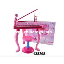 2016 nova produção popular brinquedos de plástico de piano (138208)