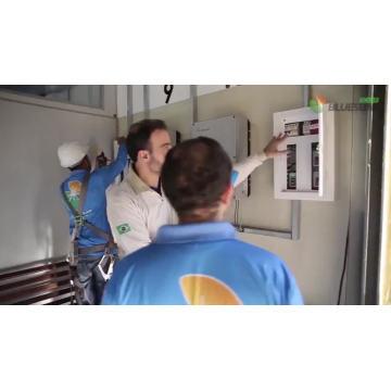 Bluesun Solar PV Soluções 10 KW Sistema Solar em casa 100KW 500KW 600KW 1MW Solar planta grade amarrar sistema de energia solar em promoção