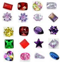 Fancy Cut pierres zircon cubique