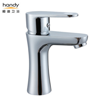 Basin Chrome Sink Faucet Brass