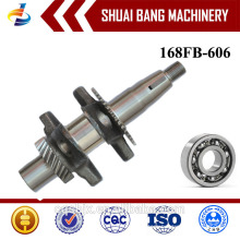 168FB Low Price Supplier Iron Forged Crankshaft