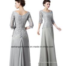 Frauen Spitze Mantel Abendkleid Abendkleid