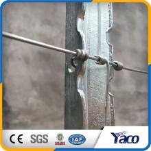 Yachao fabricante EUA tipo Steel T post