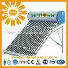 Chauffe-eau solaire à pression pressurisé avec bobine de cuivre à usage domestique